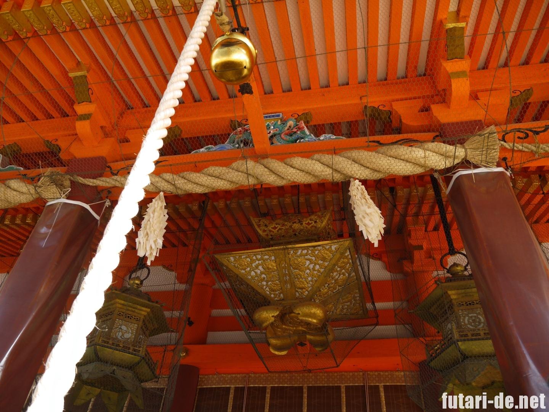 京都府 京都 八坂神社 本殿