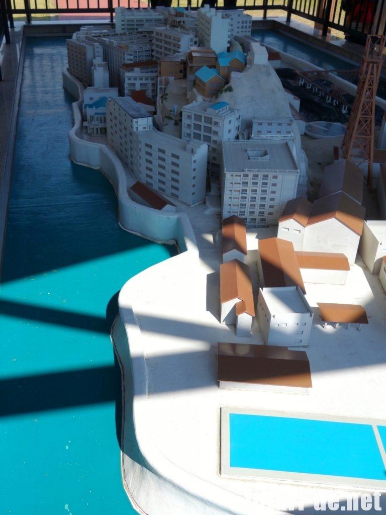 長崎県 高島 軍艦島模型 長崎市高島石炭資料館 世界遺産