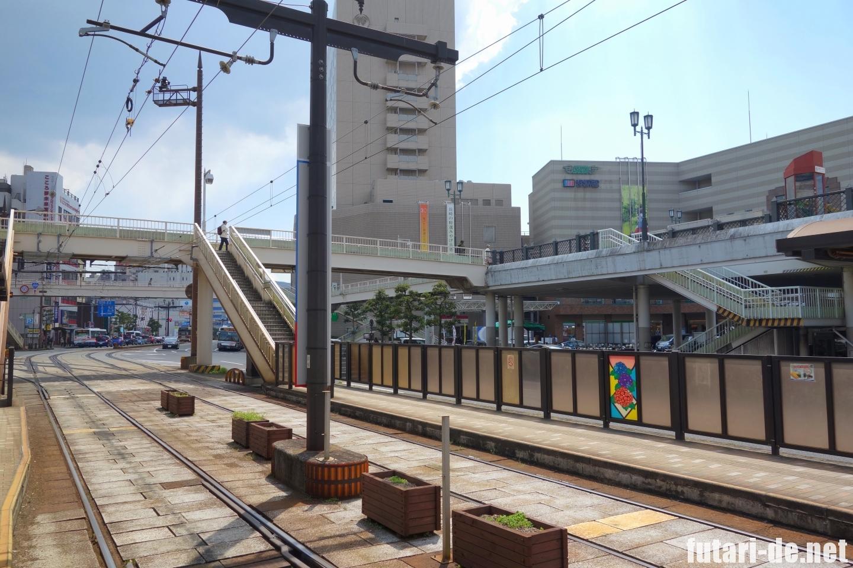 長崎県 長崎駅前 市電駅