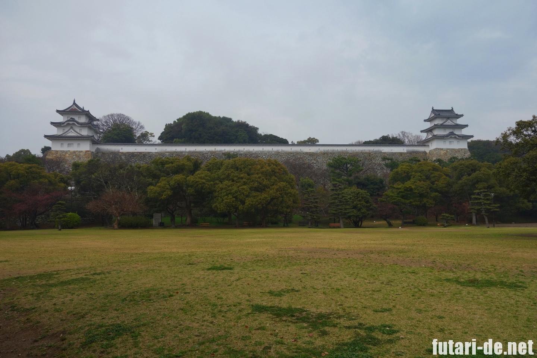 兵庫県 明石市 明石城 100名城 明石城公園