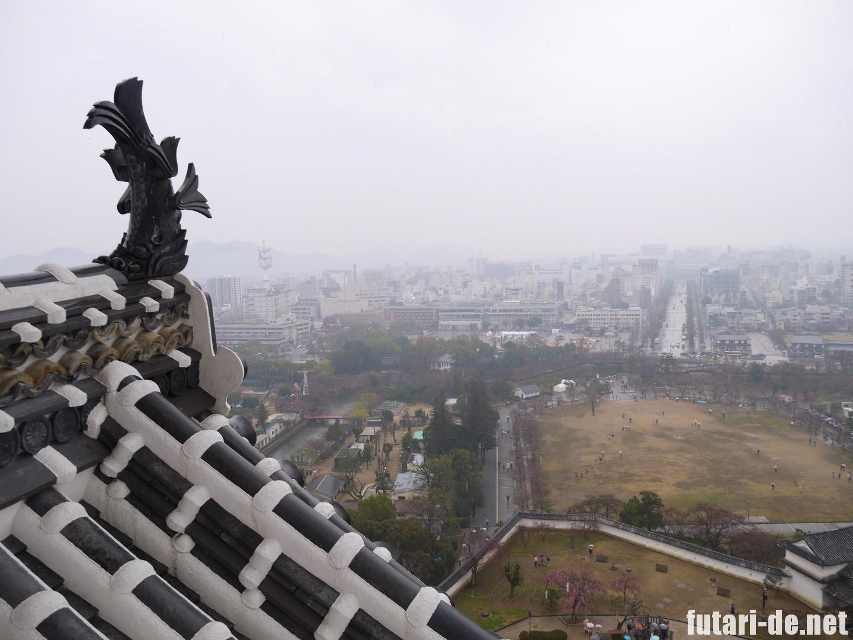 兵庫県 姫路市 姫路城 白鷺城 しゃちほこ