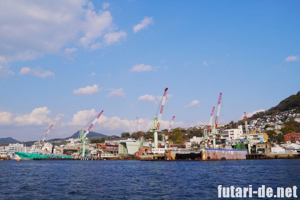 長崎県 長崎市 軍艦島 ブラックダイヤモンド号 長崎造船所
