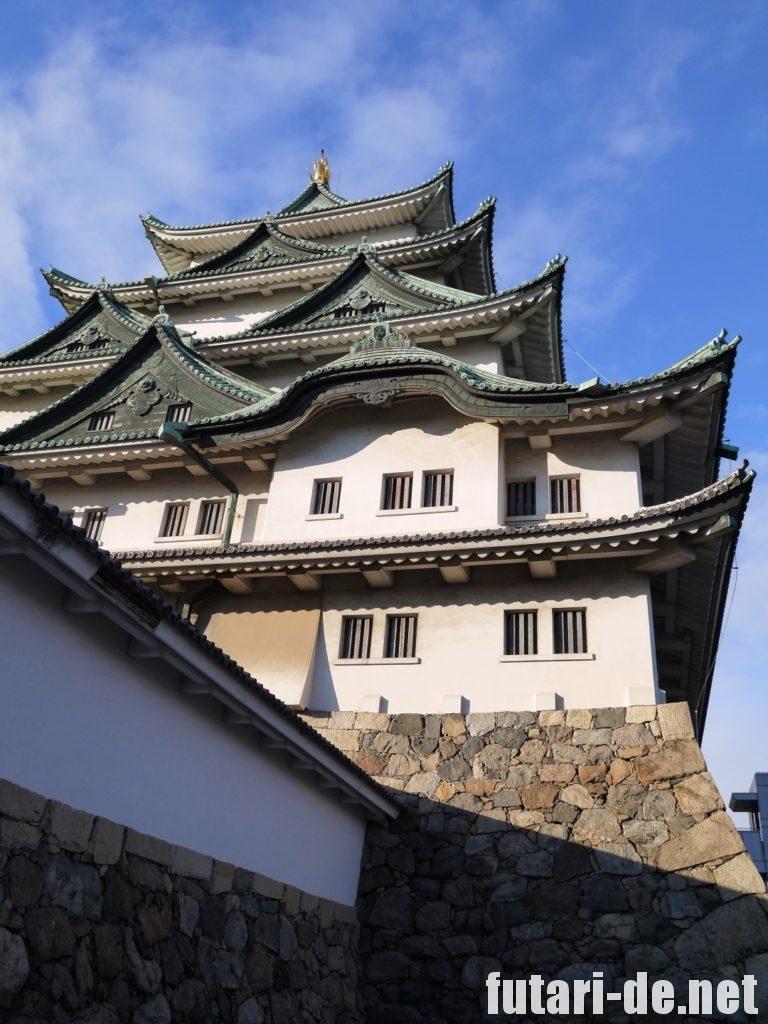愛知県 名古屋市 名古屋城 100名城 天守閣