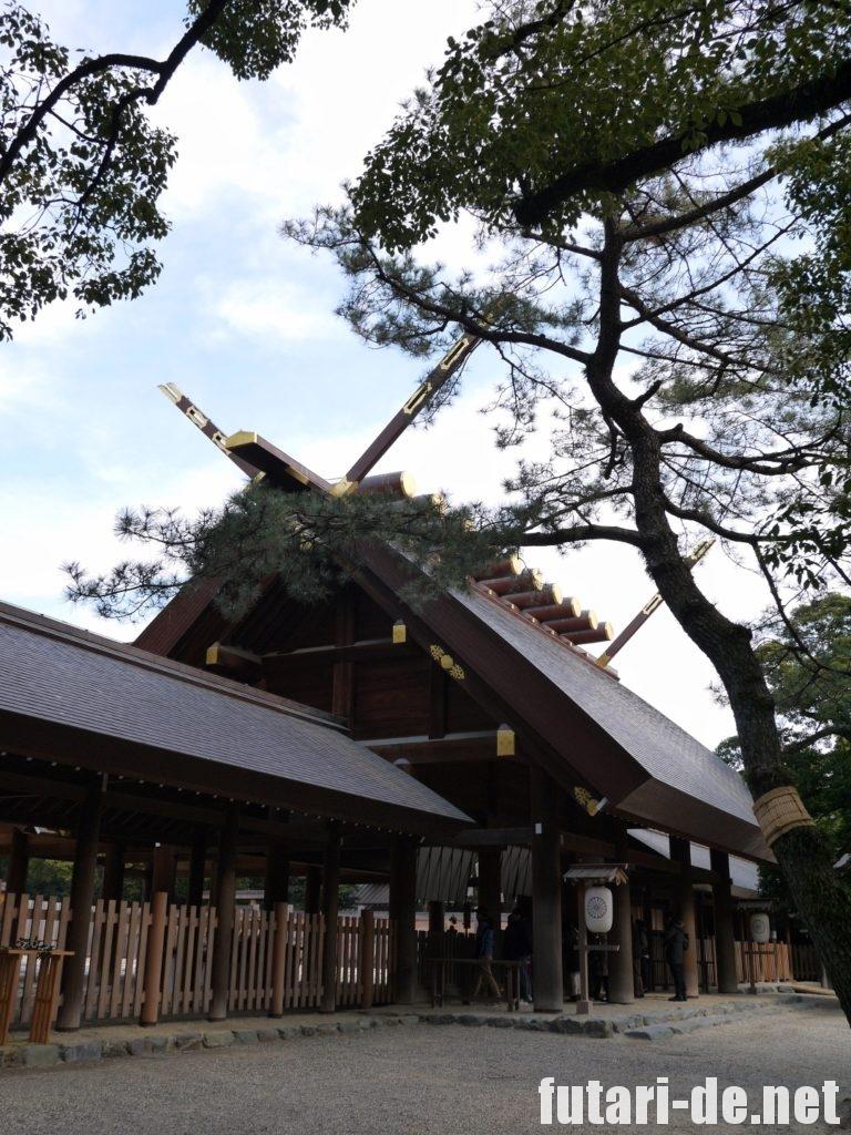 愛知県 名古屋市 熱田神宮 熱田大神 社殿