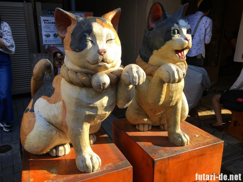 東京 谷中 谷中商店街 猫