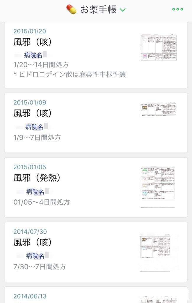 Evernote お薬手帳 活用法 活用例 利用例