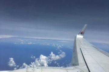 マレーシア航空 コタキナバル行 MH81 B737-800