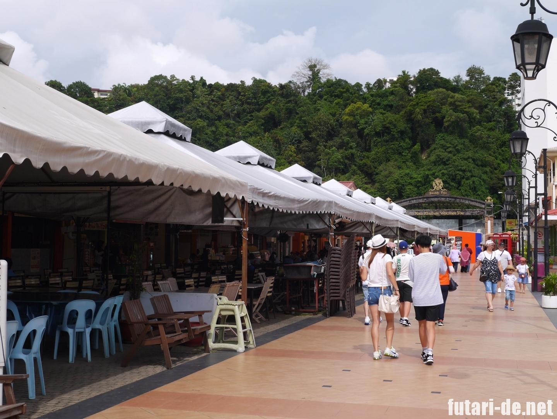 マレーシア コタキナバル Jesselton Point ジェッセルトン・ポイント ボート乗り場