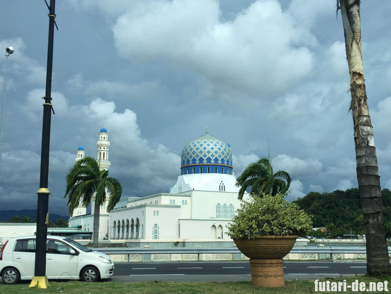 マレーシア コタキナバル市立モスク