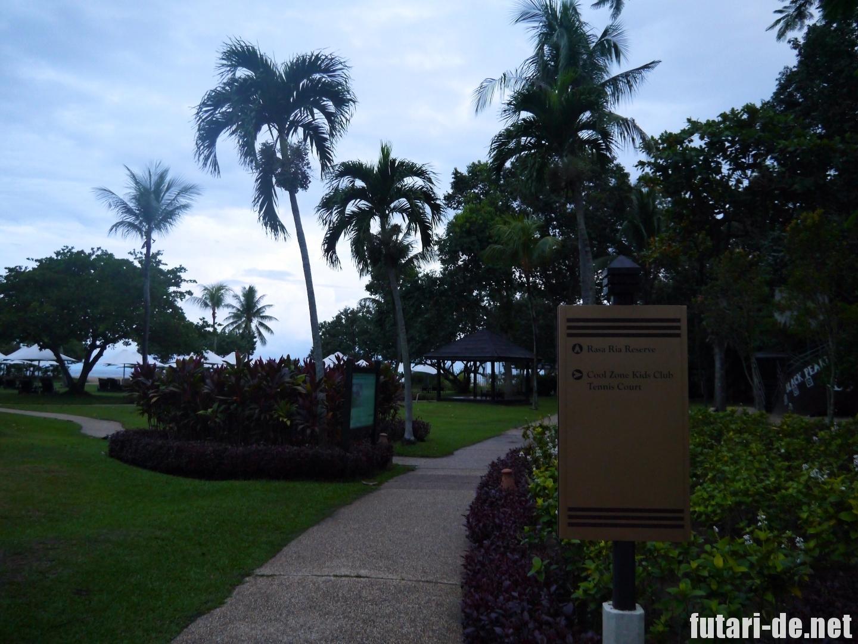マレーシア コタキナバル シャングリララサリア 自然保護区