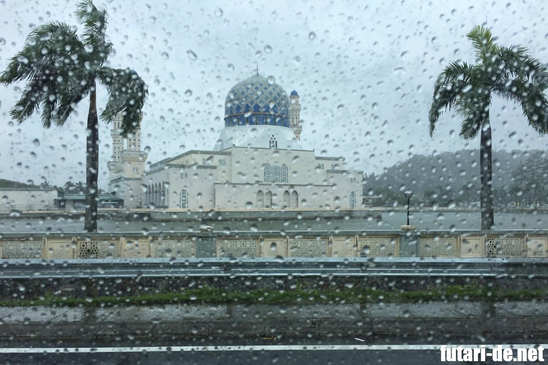 マレーシア コタキナバル シャングリララサリア モスク