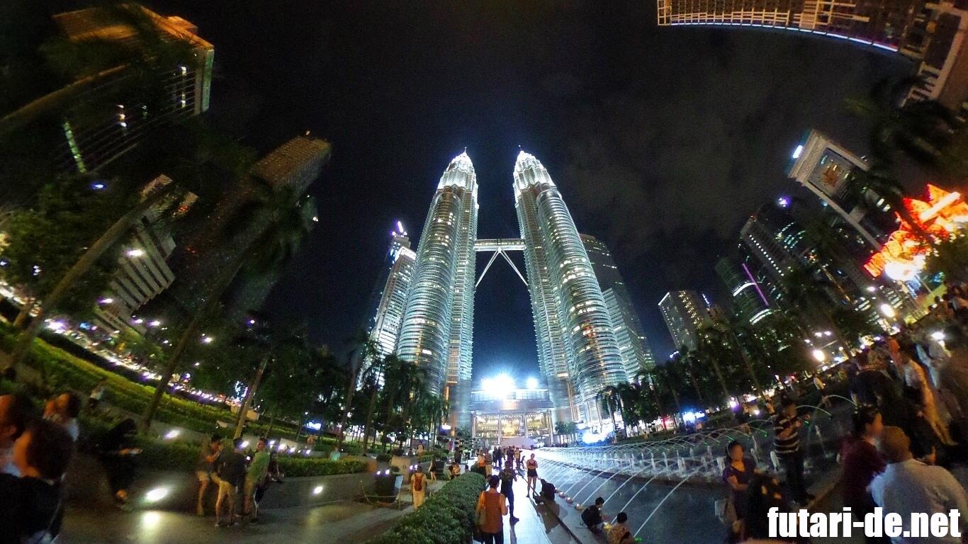 マレーシア クアラルンプール スリアKLCC ペトロナスツインタワー