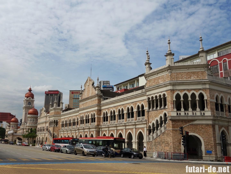 マレーシア クアラルンプール ムルデカ スクエア スルタン・アブドゥル・サマド・ビル