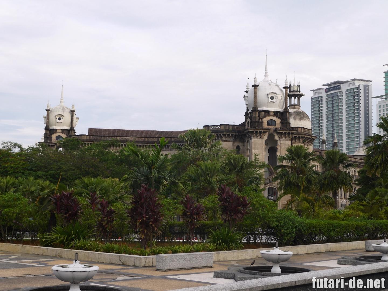 マレーシア クアラルンプール KTM Berhad マレー鉄道事務局ビル