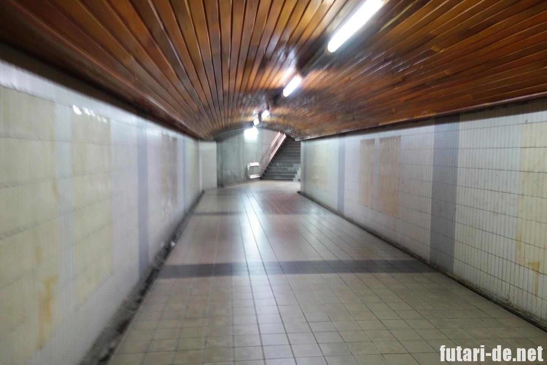 マレーシア クアラルンプール クアラルンプール駅 地下道