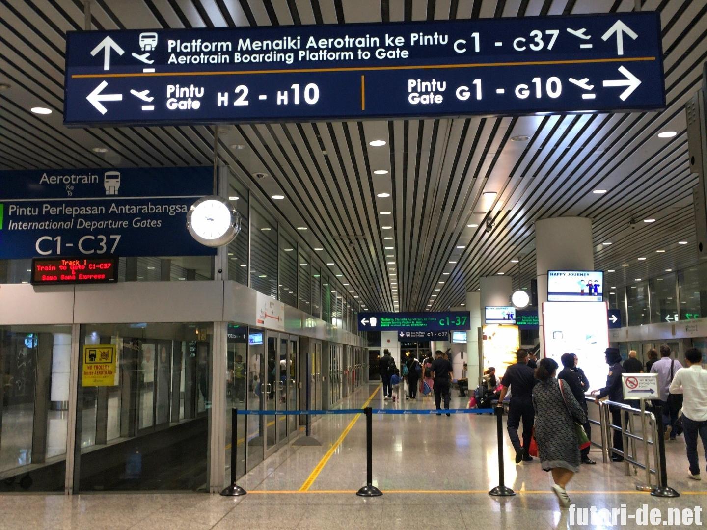 マレーシア クアラルンプール クアラルンプール空港 エアロトレイン