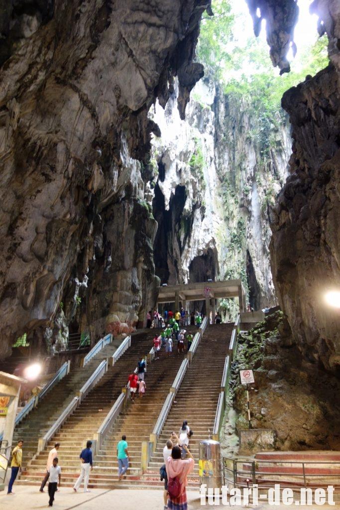 マレーシア バトゥ洞窟 バトゥケイブ