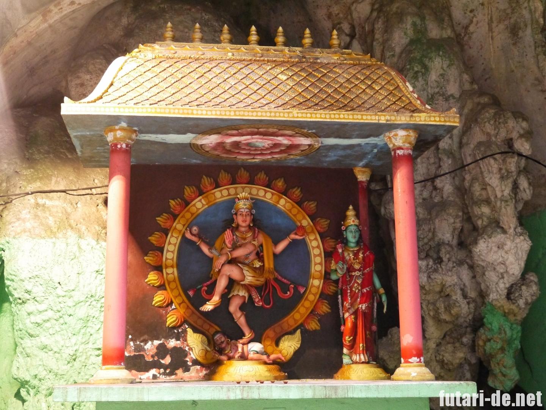 マレーシア バトゥ洞窟 バトゥケイブ シヴァ