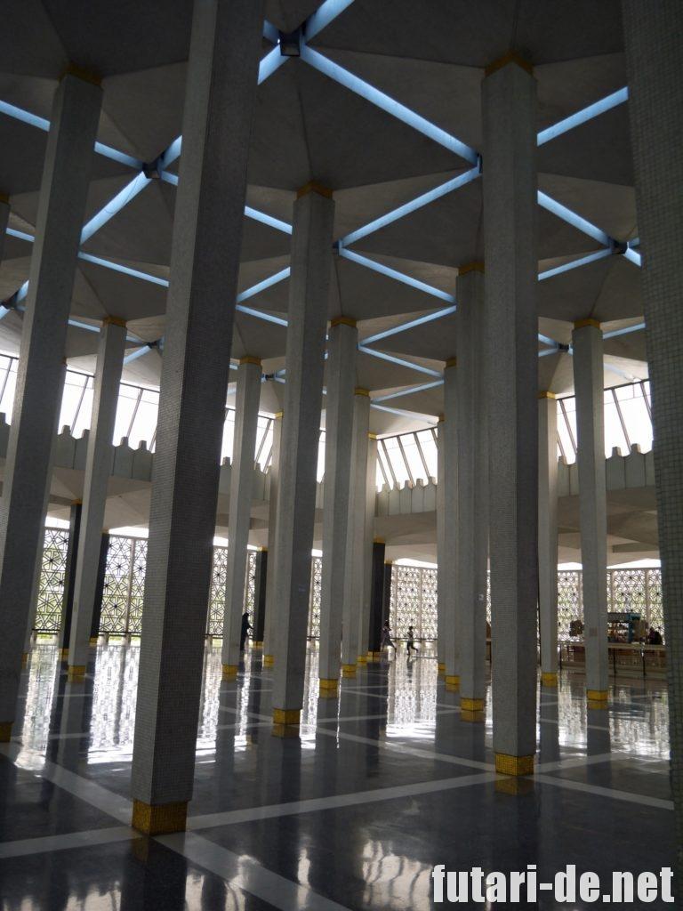 マレーシア クアラルンプール 国立モスク マスジッド・ネガラ