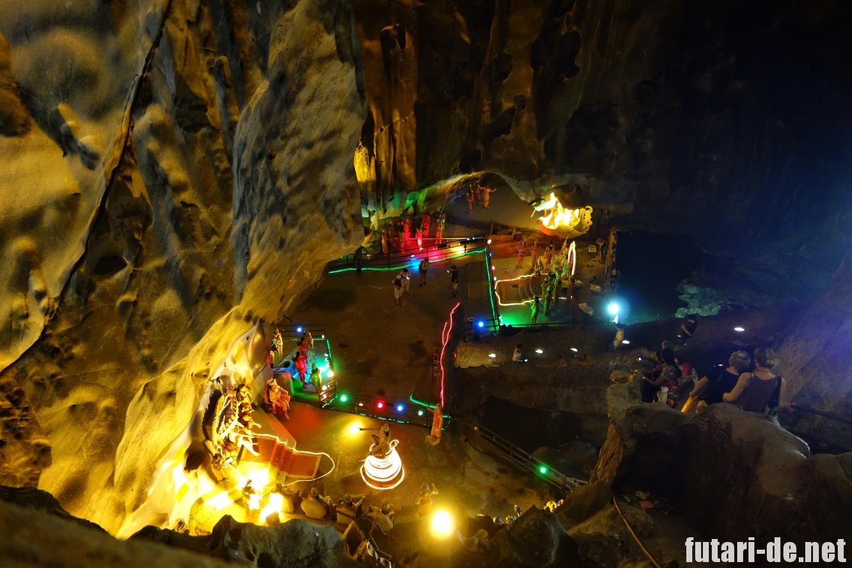 マレーシア バトゥ洞窟 ラマヤナ洞窟 ラーマヤーナ