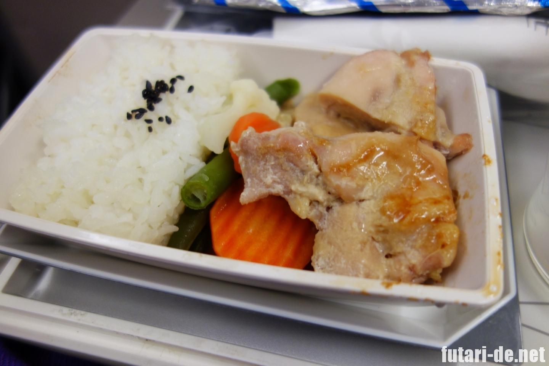 マレーシア マレーシア航空 クアラルンプール 成田行 機内食