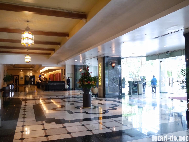 マレーシア クアラルンプール イスタナホテル ロビー