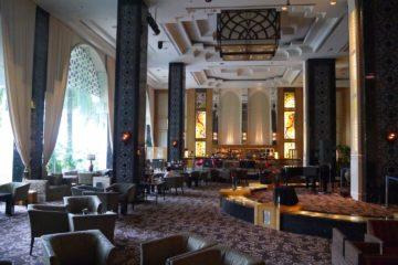 マレーシア クアラルンびープール イスタナホテル ロビーラウンジ