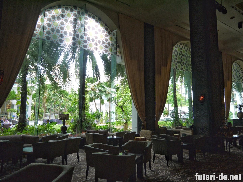 マレーシア クアラルンプール イスタナホテル ロビーラウンジ