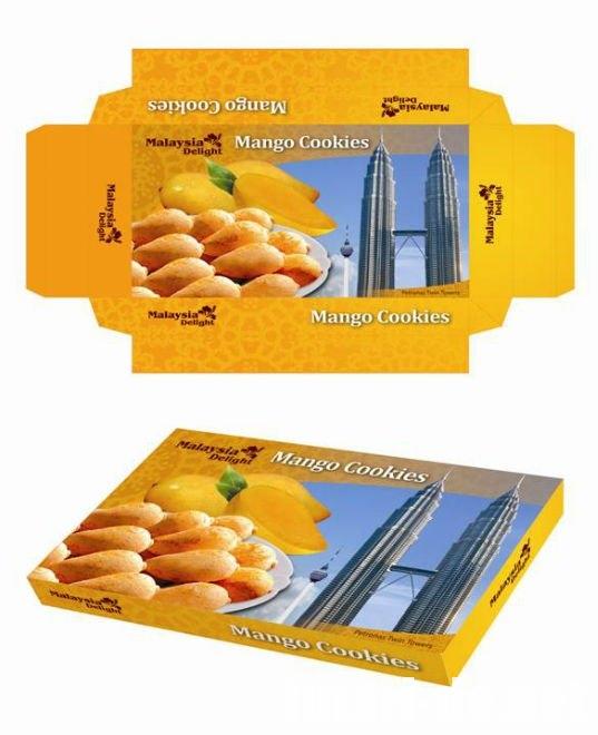 マレーシア マンゴークッキー Mango Cookies