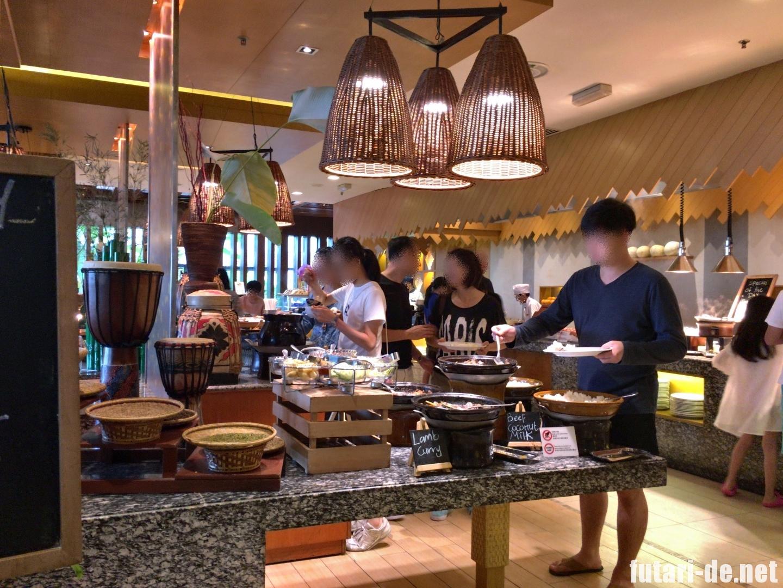 マレーシア コタキナバル シャングリ・ラ ラサリアリゾート& スパ コーヒーテラス