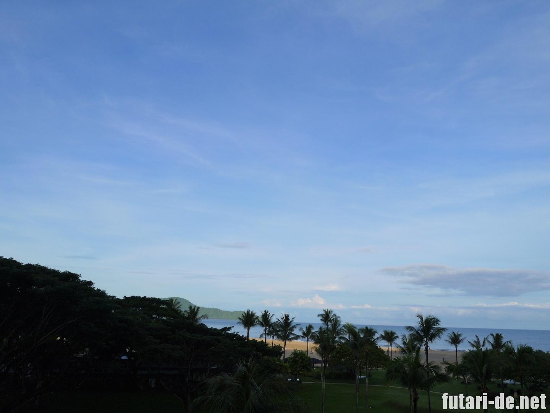 マレーシア コタキナバル シャングリ・ラ ラサリアリゾート& スパ ガーデンウィング デラックスシービュー