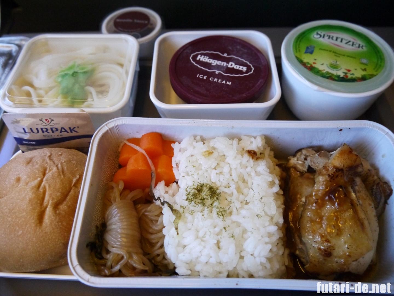 キャセイパシフィック航空 CX451 台湾 台北 機内食