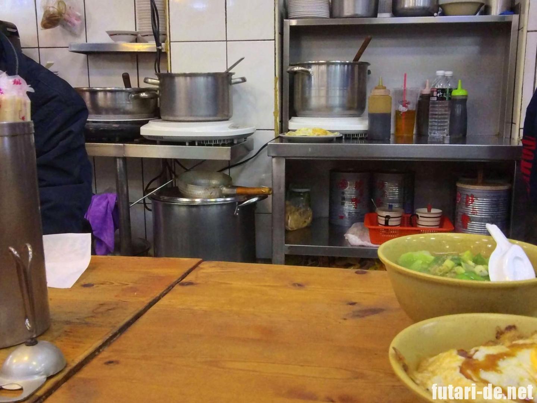 台湾 台北 西門 天天利美食坊