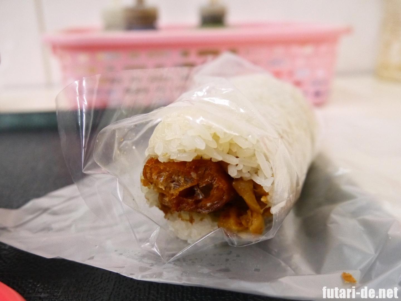 台湾 台北 世紀豆漿大王 飯糰