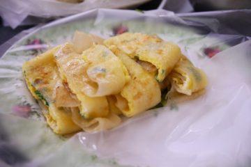 台湾 台北 世紀豆漿大王 蛋餅