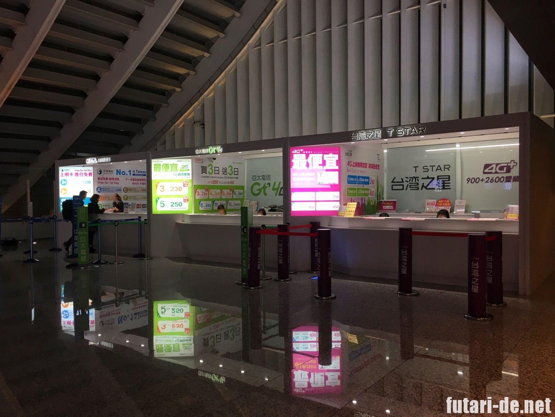 台湾 台北 桃園国際空港 中華電信 SIM
