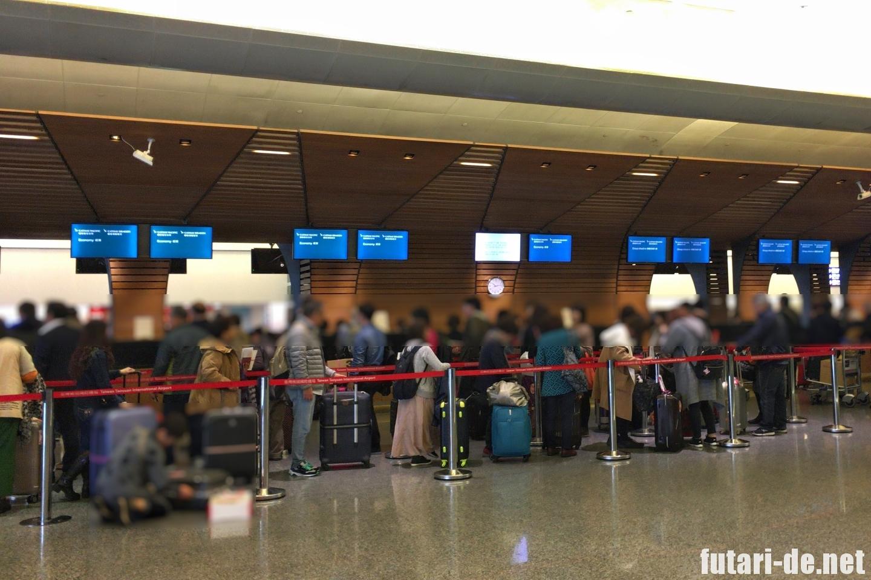 台湾 台北 桃園国際空港 チェックイン