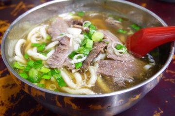 台湾 台北 牛肉麺 劉山東牛肉麺 清燉牛肉麺