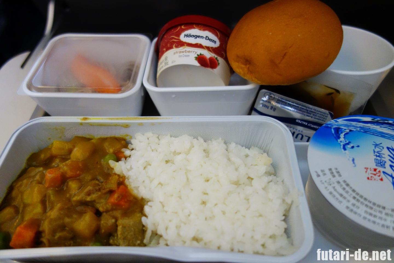 桃園国際空港 空港第一ターミナル キャセイパシフィック航空 CX450 機内食