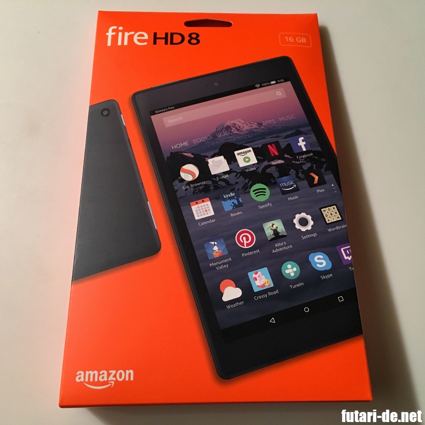 amazon fire HD8 16G