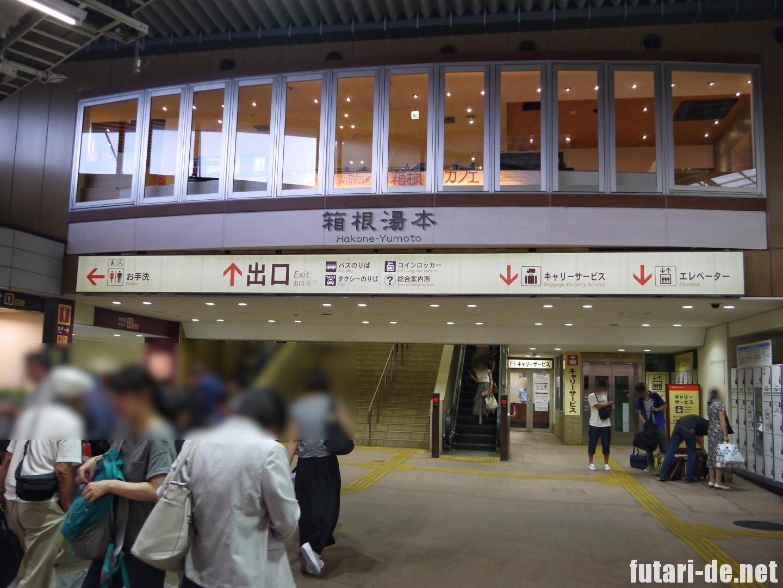 箱根湯本 ロマンスカー スーパーはこね GSE