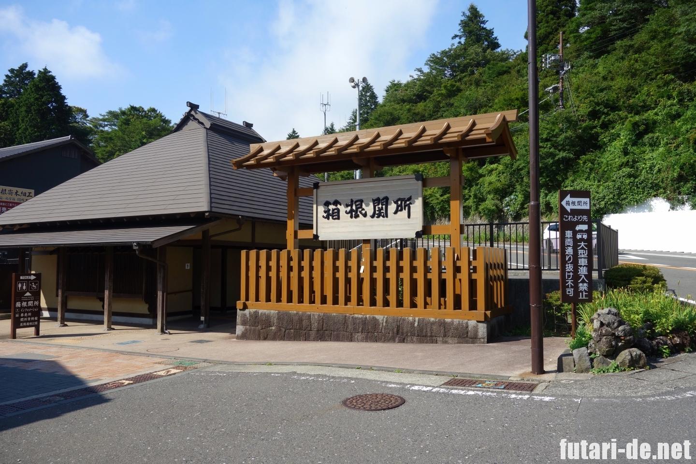 箱根 箱根関所 京口御門