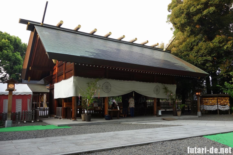 東京 阿佐ヶ谷 阿佐ヶ谷神明宮 拝殿