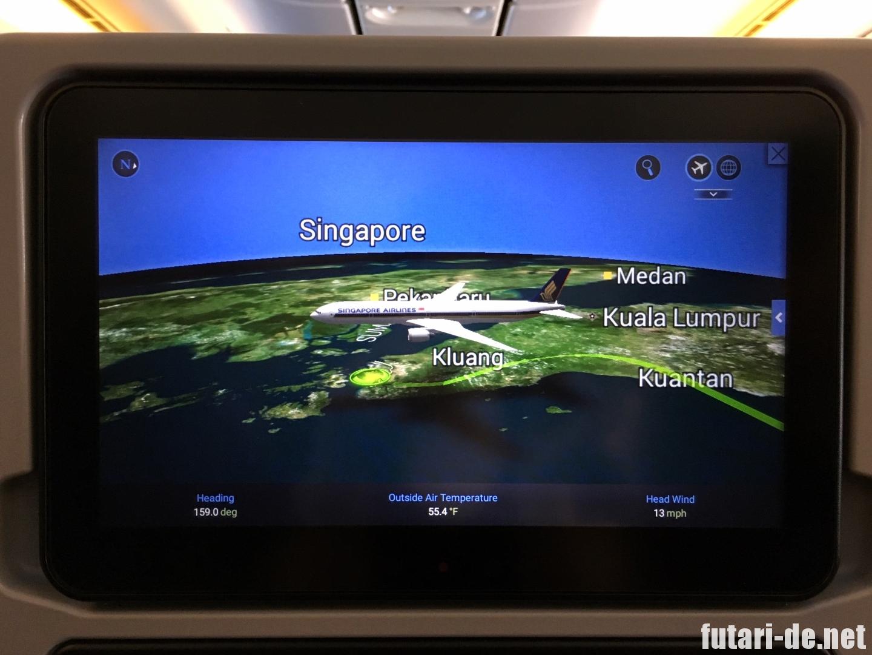 シンガポール航空 SQ631
