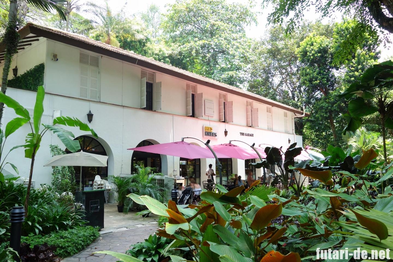 シンガポール 世界遺産 Botanic Gardens  シンガポール植物園