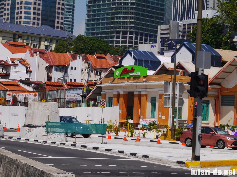 シンガポール チャイナタウン マックスウェルフードセンター