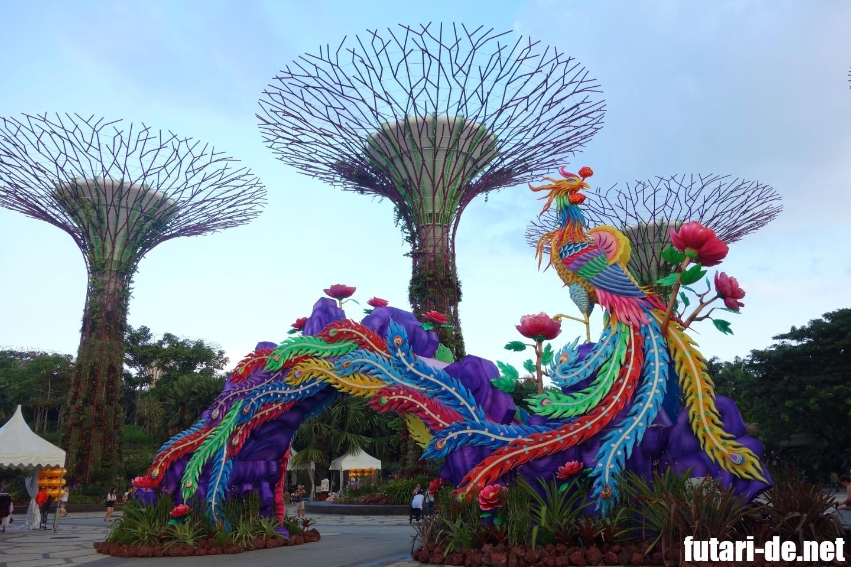 ガーデンバイザベイ 中秋節 シンガポール