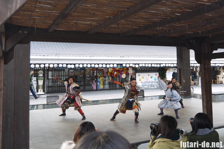 熊本県 熊本城 武将隊 城彩苑 桜の小路