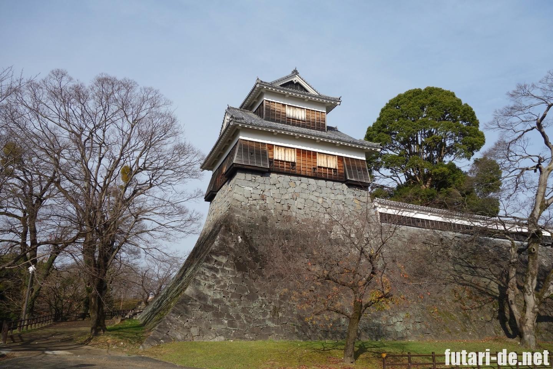 熊本県 熊本城 復興見学ルート 未申櫓