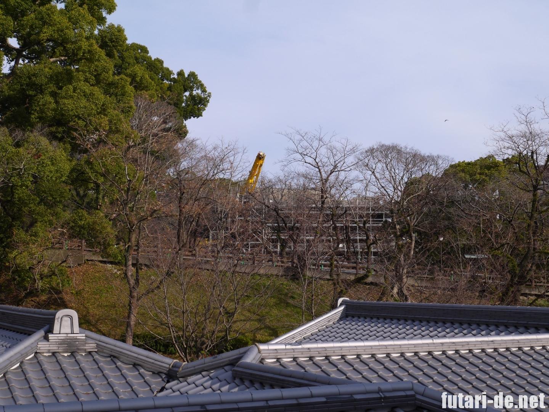 熊本県 熊本城 復興見学ルート 飯田丸 飯田丸五階櫓